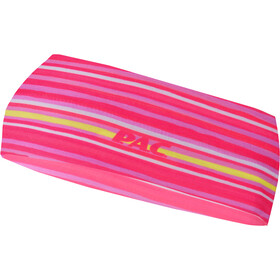 P.A.C. Stirnband Kinder slim stripes pink
